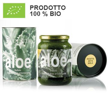Frullato Aloe BIO. Ricetta metà miele