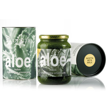 Frullato Aloe ricetta metà miele