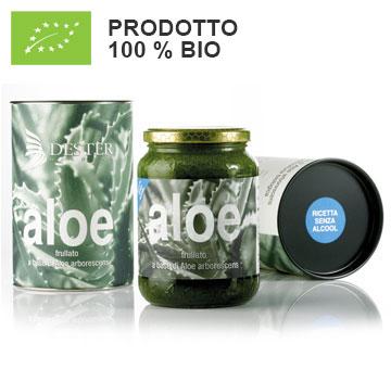 Frullato Aloe BIO. Ricetta senza alcool