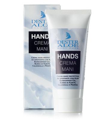 Crema Mani naturale con Aloe Vera