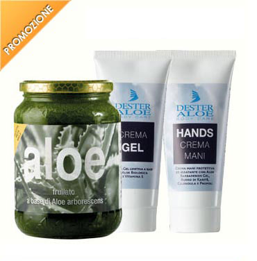 Frullato Metà Miele + Crema Gel + Crema Hands