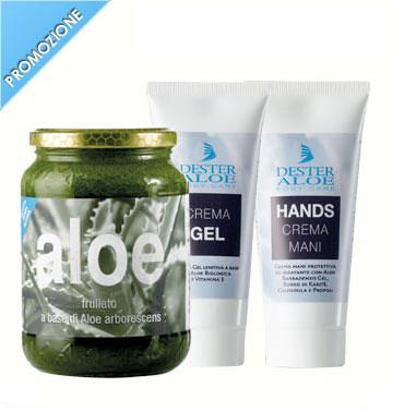 Frullato Senza Alcool + Crema Gel + Crema Hands